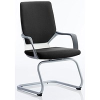 Zenon Fabric Visitor Chair - Black