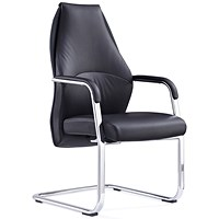 Mien Cantilever Chair - Black