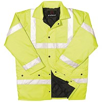 Constructor Jacket Saturn Yellow XXL (Class 3 visibility and class 3 water penetration)