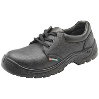 Dual Density Shoe Mid Sole Black Size 10 (Steel midsole and 200 Joule top cap protection)