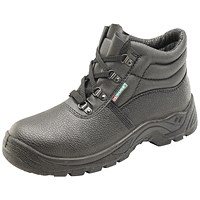 Mid Sole 4 D-Ring Boot Black Size 8
