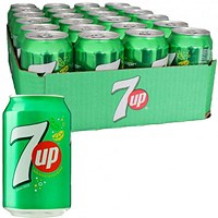 7UP - 24 x 330ml Cans