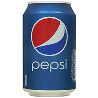 Pepsi - 24 x 330ml Cans