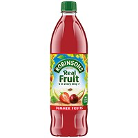Robinsons No Added Sugar Summer Fruits Squash 1 Litre