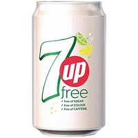 7UP Free - 24 x 330ml Cans