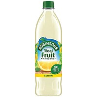 Robinsons Lemon Squash No Added Sugar - 1 Litre