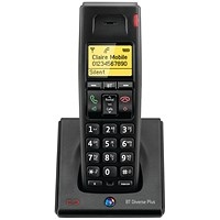 BT Diverse 7100 Plus DECT Additional Telephone Handset Cordless SMS Range 50-300m Ref 060748