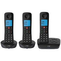 BT Essential DECT TAM Phone Trio 90659