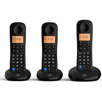 BT Everyday DECT Phone Trio (Up to 10 hours talking or 100 hours standby) 90663