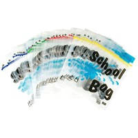 BDS Maxigrip School Bags, A4, Clear, Pack of 40
