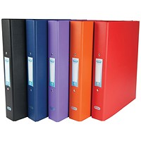 Elba A4 Ring Binder 25mm 2 x O Ring (Pack of 10)