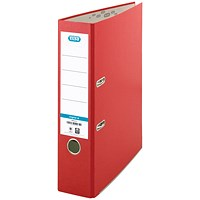 Elba A4 Lever Arch Files, 70mm Spine, Red, Pack of 10