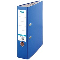 Elba A4 Lever Arch Files, 70mm Spine, Blue, Pack of 10