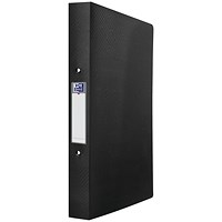Elba Ring Binder 25mm Capacity A4 Black 400104389