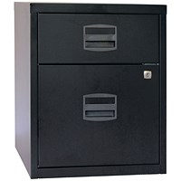 Bisley 2 Drawer A4 Home Filer Black BY31012