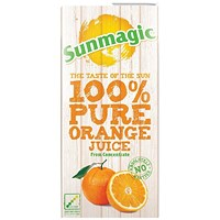 Pure Orange Juice 1 Litre Cartons (Pack of 12) A08067