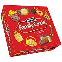 McVities Family Circle Biscuits - 670g