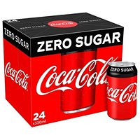 Coca Cola Zero - 24 x 330ml Cans
