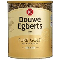 Douwe Egberts Pure Gold Instant Coffee - 750g Tin