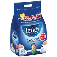 Tetley Two Cup Tea Bags (Pack of 275)