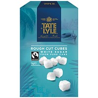 Tate and Lyle White Rough-Cut Sugar Cubes - 1kg