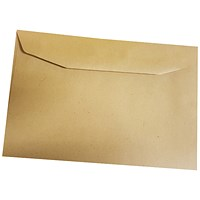 5 Star C6 Envelopes, Manilla, Gummed, 80gsm, Pack of 2000