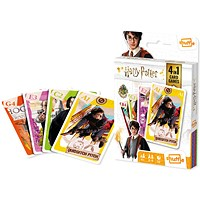 Shuffle Harry Potter 4-in-1 Card Game (Pack of 12)
