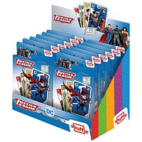 Shuffle Justice League 4-in-1 Card Game (Pack of 12)