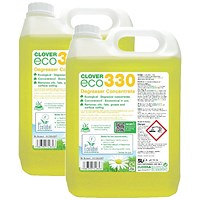 Clover ECO 330 Degreaser Concentrate 5 Litre (Pack of 2)