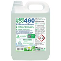 Clover ECO 460 All Purpose Cleaner 5 Litre (Pack of 2) 460