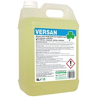 Clover Versan Broad Spectrum Surface Disinfectant 5 Litre