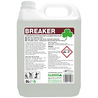 Clover Breaker Concentrated Poolside Cleaner 5 Litre