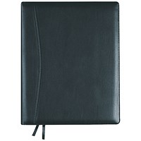 Collins Elite Diary Day Per Page Compact Black 2021