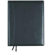 Collins Elite Diary Week to View Compact Black 2021 1150V