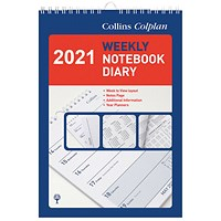 Collins Weekly Notebook Diary 2021