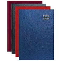 Collins 2020 A4 Diary, Day Per Page Appointments, Assorted