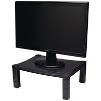 Contour Ergonomics Adjustable Monitor Stand Black
