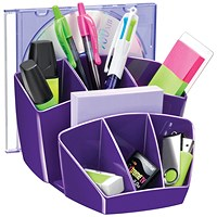 CEP Pro Gloss Desk Tidy Purple 580GPURPLE