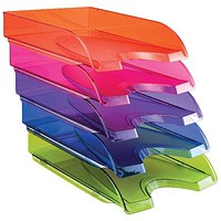 Happy by CEP Letter Tray Multicoloured (Pack of 5)
