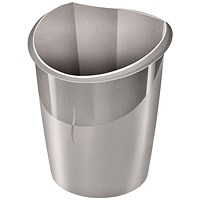 CEP Ellypse Xtra Strong Waste Bin 15 Litre Taupe