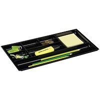 CEP Drawer Black Organiser (W344 x D185 x H20mm)