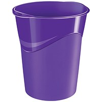 CEP Pro Gloss Waste Bin Purple 280GPURPLE