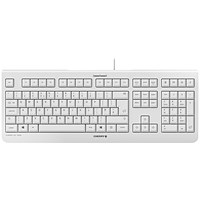 CHERRY KC 1000 Flat Wired Keyboard Pale Grey