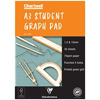 Chartwell Graph Pad, A3, 30 Sheets
