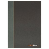 Collins Ideal Casebound Manuscript Book, A4, Ruled, 192 Pages