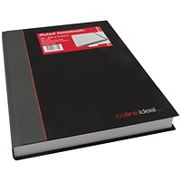 Collins Ideal Feint Ruled Casebound Notebook 384 Pages A4