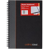 Collins Ideal Feint Ruled Wirebound Notebook A5 468W