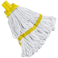 180g Hygiene Socket Mop Head Yellow 103061YL
