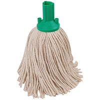 Exel 250g Mop Head Green (Pack of 10) 102268GN