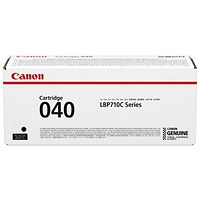 Canon 040 Black Laser Toner Cartridge